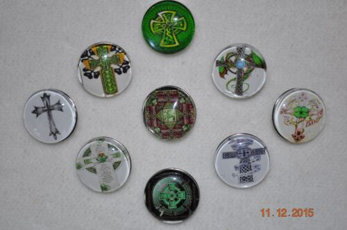 NEW snap metal button charm CROSS cover for snap button bracelets /& more 18-19MM