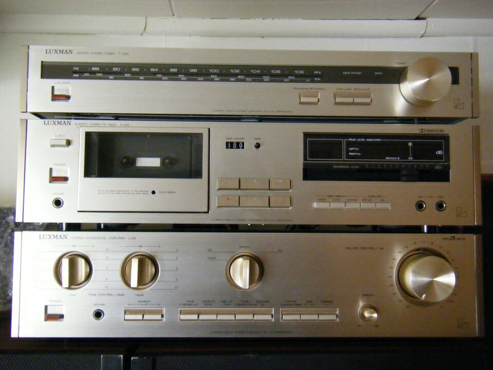 Forstærker, Luxman, L210 - T215 - K210
