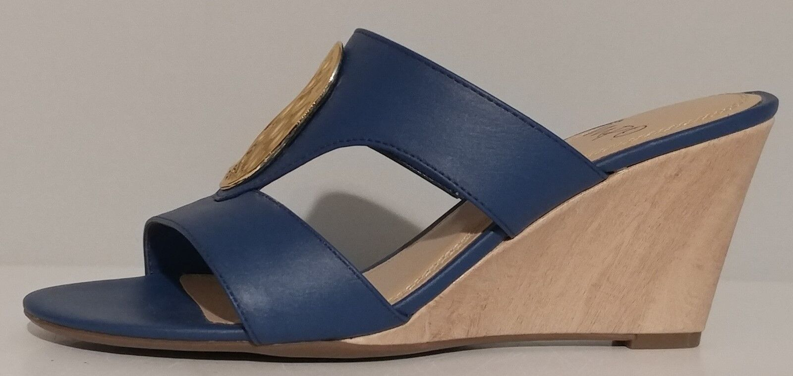 NEW   Womens IMPO Valmira bluee Wedge Sandals 3  Heels Size 8M US 38M EUR