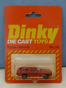 Dinky-Toys-Airfix-ownership-No-105-Toyota-Celica-ST-Hatch-Mint-Packaged