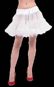 womens white petticoat underskirt tutu volume skirt fancy