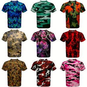 42a34a2cc Image is loading 15-Styles-CAMO-Camouflage-Hunting-Purple-Pink-Green-