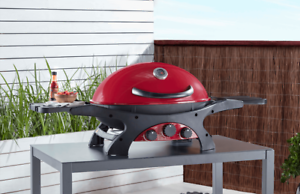 Ziggy-by-Ziegler-amp-Brown-Portable-BBQ-Triple-Grill-LPG-Chilli-Red