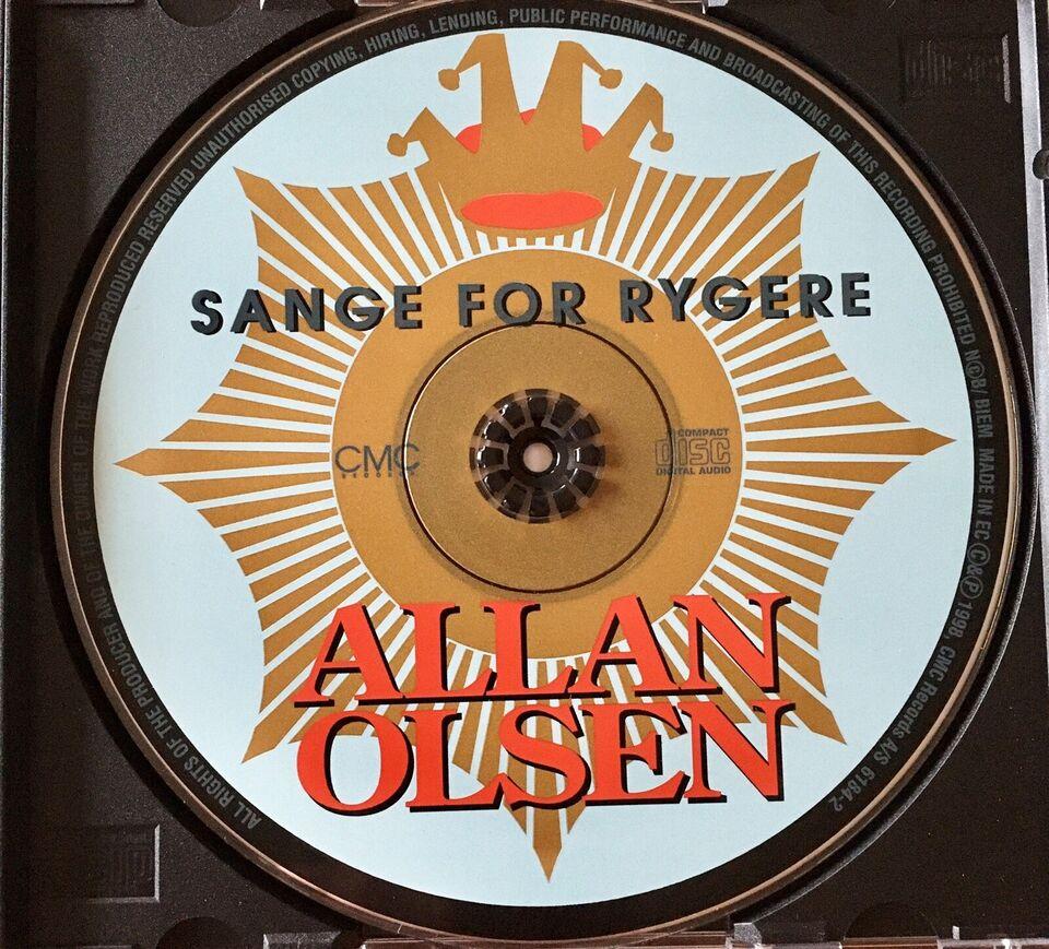 Allan Olsen: Sange For Rygere, rock
