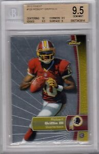 Robert-Griffin-III-2012-Topps-Finest-Base-RC-BGS-9-5-Gem-Mint