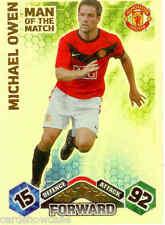 2009-10 Topps Match Attax Man Of Match Foil No399 Michael Owen