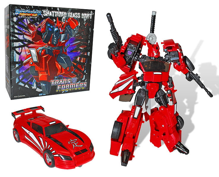 Transformers Collectors Club 2012 TFCC Exclusive Shattered Glass Drift