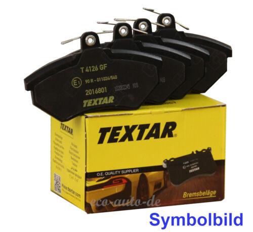 ,SL R231 TEXTAR Bremsbeläge VA für MERCEDES S-KLASSE W222,V222,X222