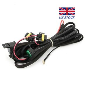 fog lights wiring harness switch on off fuse for bmw r1200gs f800gs rh ebay co uk BMW E46 Wiring Harness 2003 BMW 325I Wiring Harness