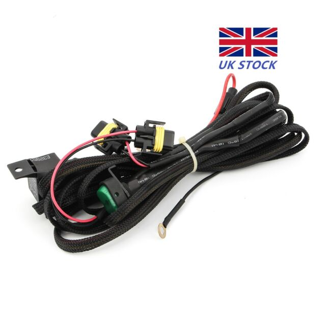 Pleasant Led Fog Head Light Wiring Harness Switch On Off Fuse For Bmw R1200Gs Wiring Cloud Hisonuggs Outletorg