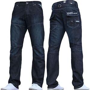 Grande-Taille-pour-Hommes-Enzo-Jeans-Mode-Chouette-Details-Style-Ez-244