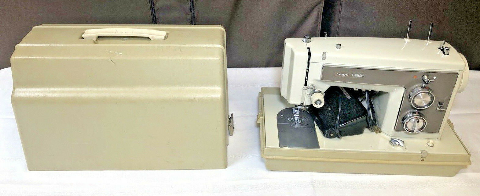 s l1600 - Sears Kenmore 158.14101 Vintage Sewing Machine