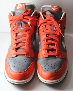 wholesale dealer cb6e7 7a424 Image is loading Nike-Dunk-High-Men-s-14-College-Orange-