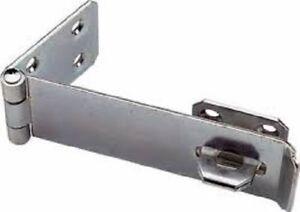 25-4x15-2cm-150-MM-Haspe-und-Heften-Verzinkt