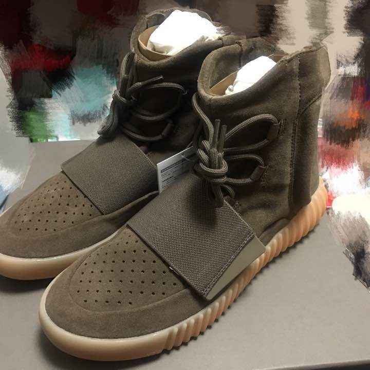 ADIDAS YEEZY BOOST 750 LIGHT BROWN from japan (5789