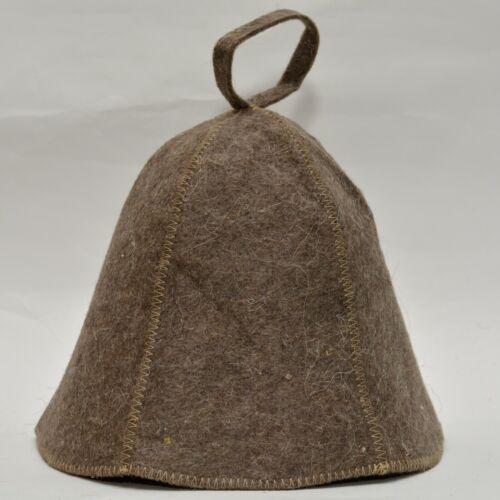 Russian Banya felt cap Sauna hat wool baths accessories כובעי צמר לסאונה