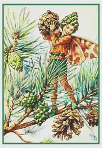 The Yew Garden Fairy By Cicely Mary Barker Counted Cross Stitch Pattern