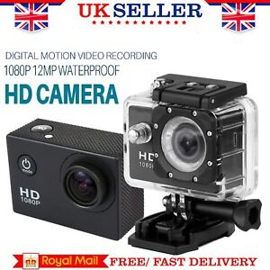 Sport-Action-Camera-12MP-1080P-FHD-140-Waterproof-CAM-With-Motion-Detection-TF