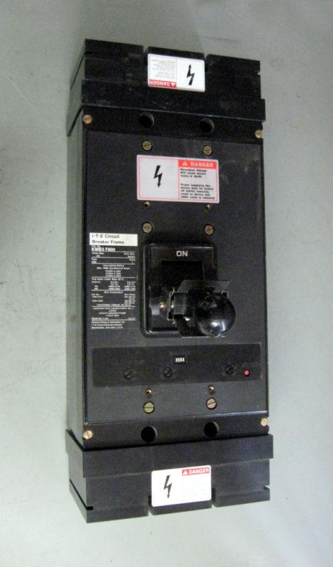 ITE Circuit Breaker KMB3F800 800 Amps 600 VAC 3 Pole