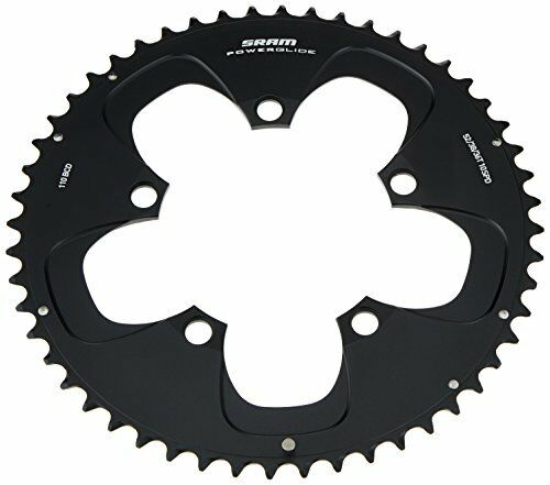 Sram Road SRAM Chainring TT 54T 5 Bolt 130 mm BCD Aluminium Non-Hidden Bolt 5
