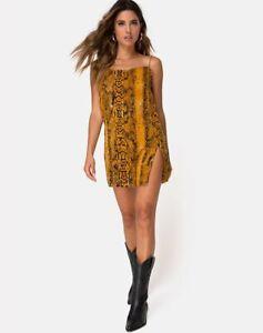 MOTEL-ROCKS-Datista-Slip-Dress-in-Snake-Mustard-Small-S-mr36