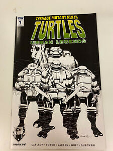 IDW-TMNT-URBAN-LEGENDS-ISSUE-1-NM-CONDITION-RE-OTTAWA-CON-COVER-RARE