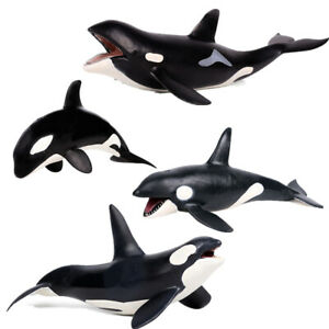 Killer-Whale-Grampus-Orcinus-orca-Figure-Animal-Model-Collector-Toy-Kids-Gift