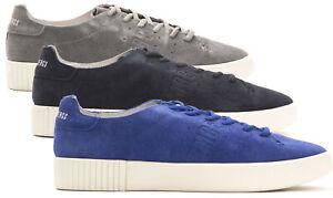 Sneakers-BIKKEMBERGS-100-Pelle-scamosciata-uomo-Scarpa-casual-BKE10933