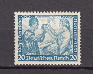 Deutsches Reich WAGNER 505 B aus 499-507 ** einwandfrei postfrisch LUXUS