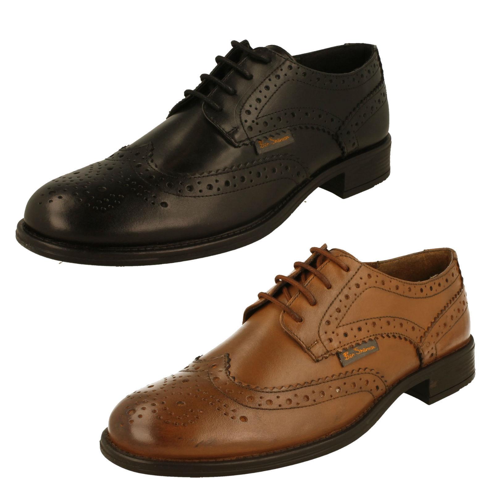Men's Ben Sherman Brogue Shoes - Simpson