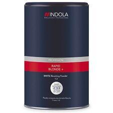 Indola Rapid Blond+ White Dust-Free Powder Hair Bleach 450g