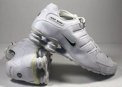 New Nike Shox NZ EU 501524 106 Classic White Running Shoes Men SZ 10 NWOB 823233905504 | eBay