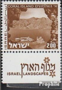 Never Hinged 1971 Landscapes Less Expensive Israel Practical Israel 536y Ii With Tab Unmounted Mint