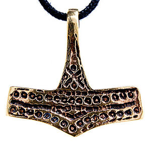 Other Fashion Jewelry N º 58 Martillo De Thor Bronce Romersdal Martillo Thor Odín Thor Colgante Easy To Repair