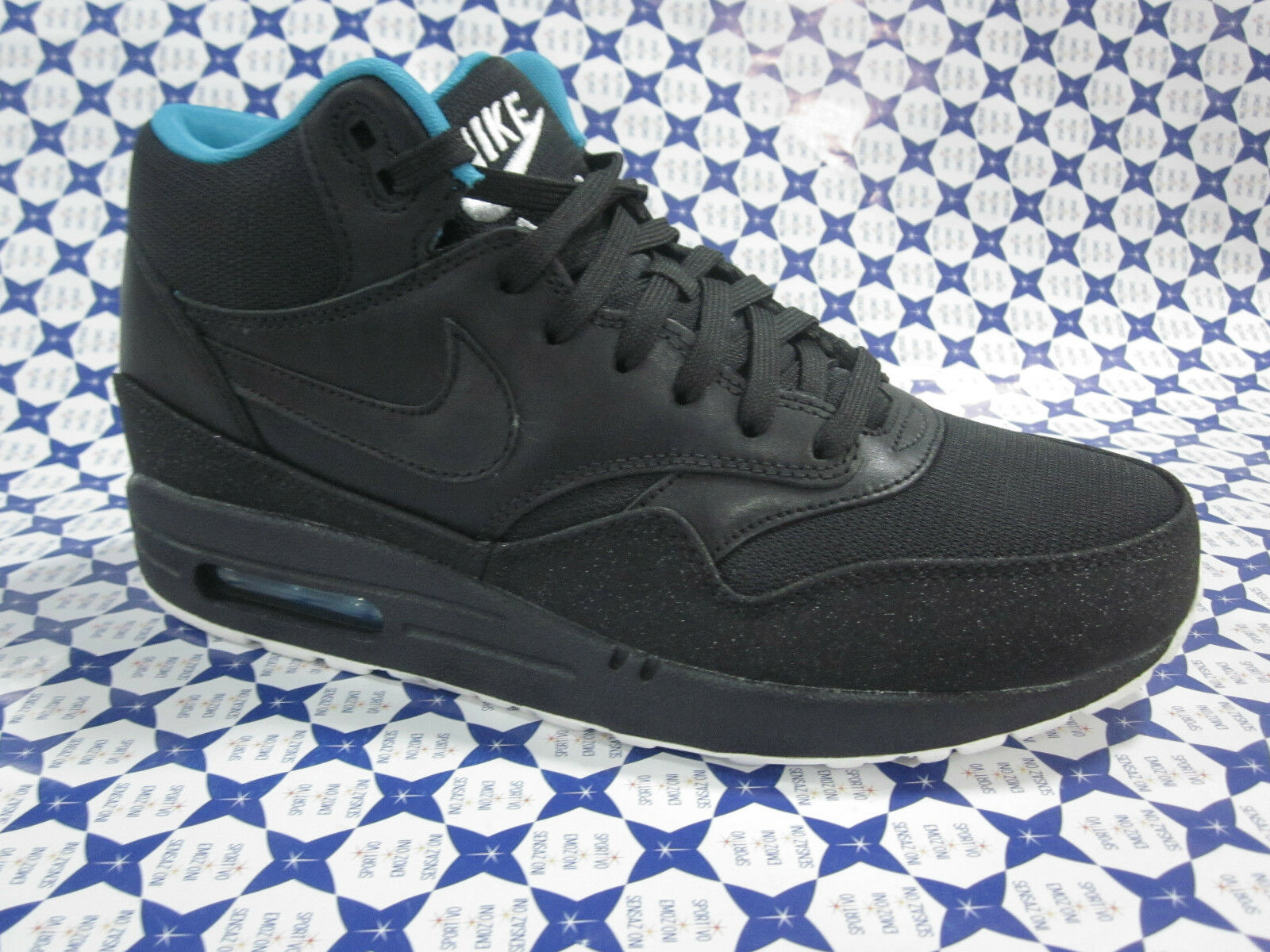Scarpa Nike Air Max 1 Mid - black 685192