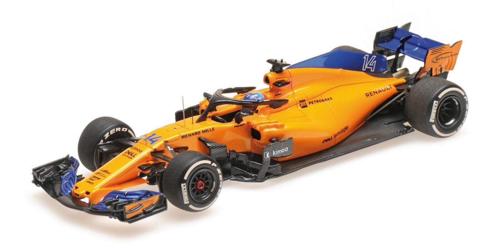 la migliore offerta del negozio online 1 43 Minichamps McLaren Renault MCL33 2018 2018 2018 F1 Ferneo Alonso P537184314  fino al 42% di sconto