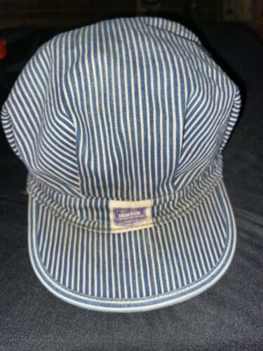Vintage Penney's Pay Day Engineer Cap M, Railroad