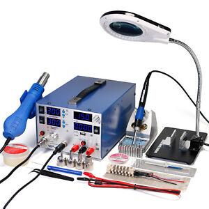 Wep-853d-3A-Dc-Suministro-Electrico-SMD-Estacion-de-Retrabajo-Soldadura