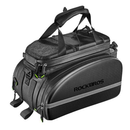 RockBros Cycling Bag Rear Carrier Bag Rack Pack Trunk Pannier Bicycle Bag