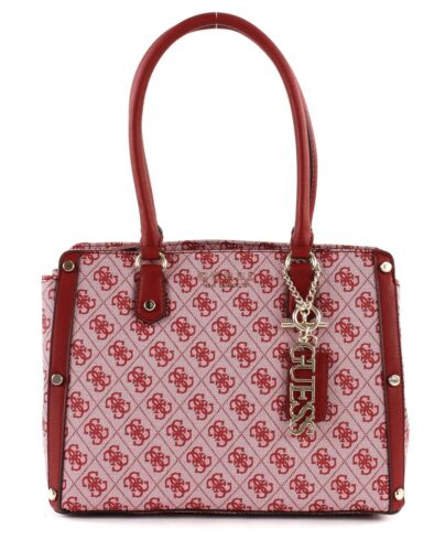 Guess Medium Sac Florence Red Satchel Bandoulière À 81fraxw8q