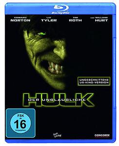 Blu-ray-Der-unglaubliche-Hulk-ungeschnittene-US-Kino-Version-NEU-OVP