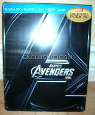 Marvel's The Avengers (3D + 2D) SteelBook Blu-ray Future Shop Exclusive Free S/H