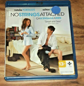 NO STRINGS ATTACHED  BLU-RAY Bluray Free Shipping in Canada Movie