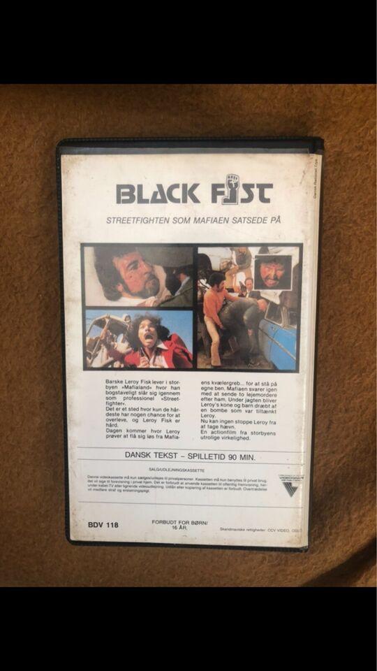 Action, Black fist
