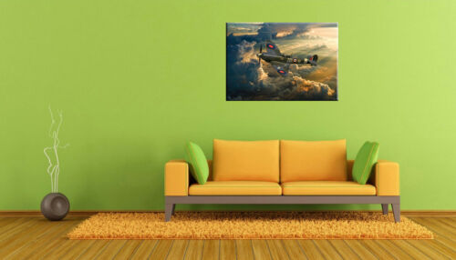 Spitfire MH434 ZD-B  2018 canvas prints  various sizes free delivery