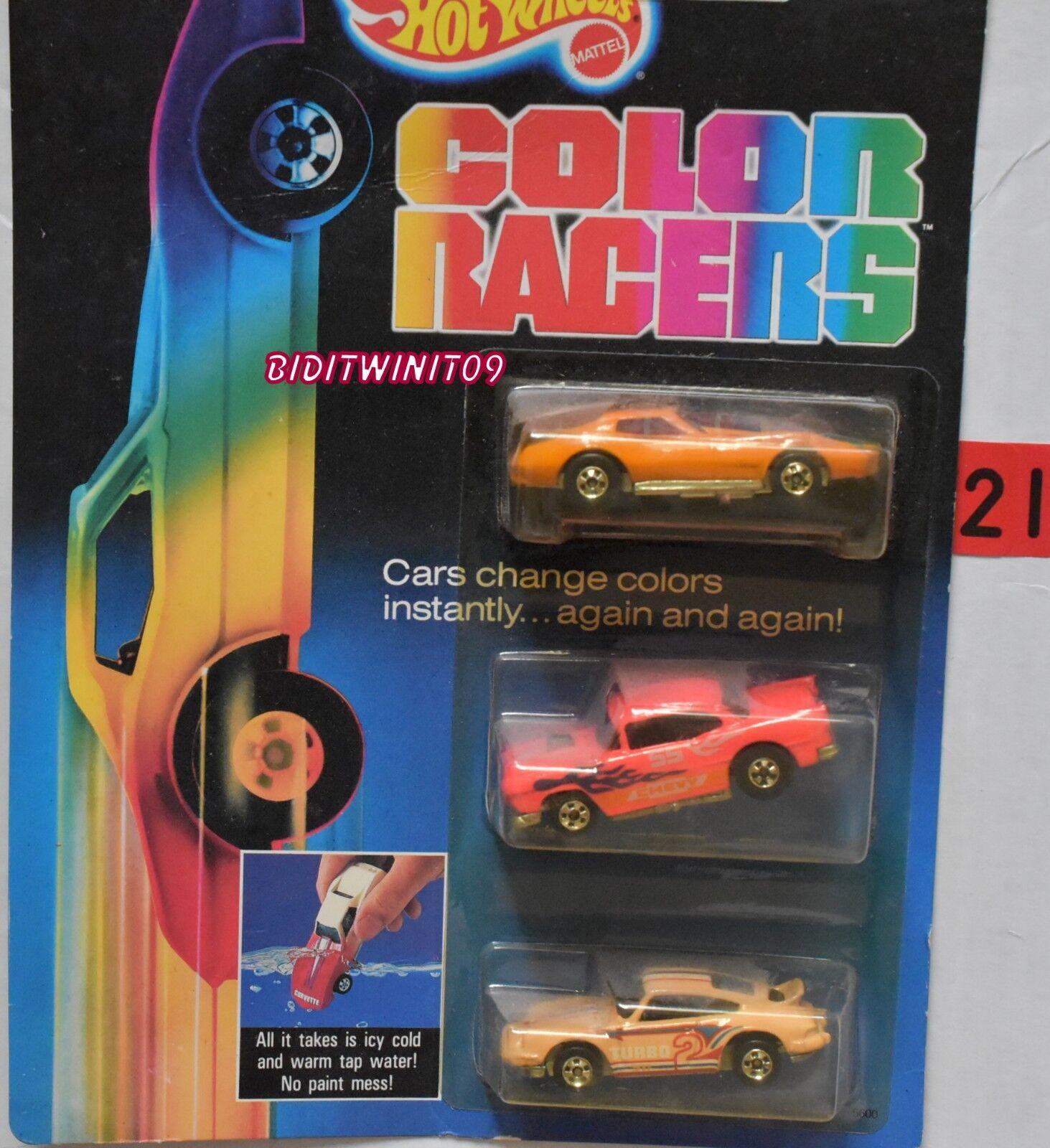 100% precio garantizado Hot Wheels 1987 Color corrojoores Corvette 55 Chevy Vet Stingris Stingris Stingris Porsche W +  elige tu favorito