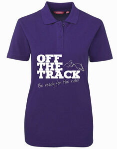 HDC-LADIES-POLY-COTTON-POLO-OFF-THE-TRACK-CHOOSE-YOUR-COLOUR