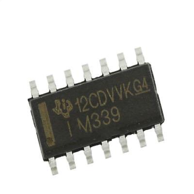 100pcs LM339 SOP-14 LM339 339 SOP14 TI POWER QUAD VOLTAGE COMPARATORS