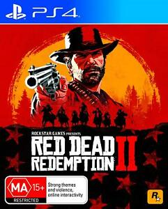 Red-Dead-Redemption-II-2-PlayStation-4-PS4-FAST-FREE-POSTAGE