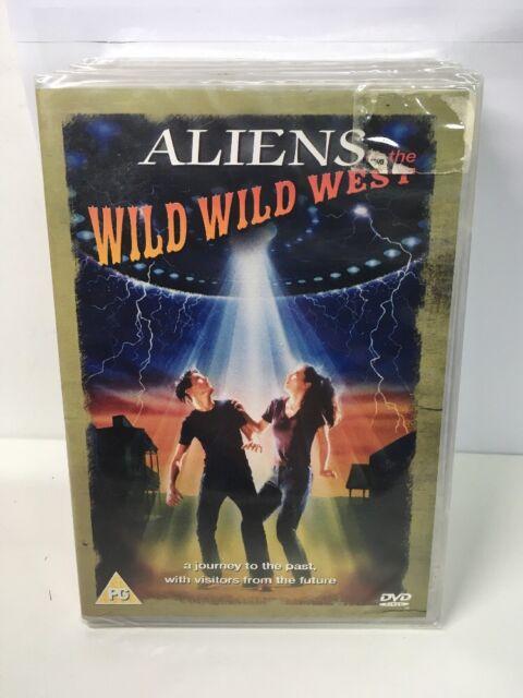 Aliens In The Wild Wild West [DVD] -Rare. New Sealed. Uk Region 0. Freepost Uk